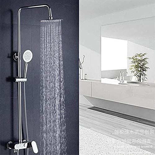 Juego de ducha con llave oculta en la pared, de cobre, de tres velocidades, rociador, lluvia, masaje, burbujas de agua presurizada (color: - tamaño: -) juego de ducha