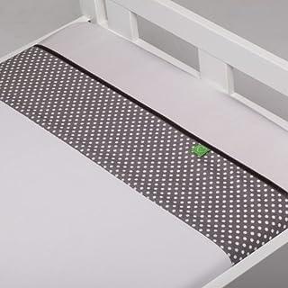 Briljant Drap Plat Bea Dots Taupe Baby (Coton) de 75x 100cm