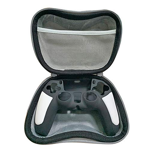 Tenglang Game Controller Hard Shell Portable EVA Host Game Carrying Case Staubdichte Tasche für Sony PS5 DualSense Xbox Series X Controller