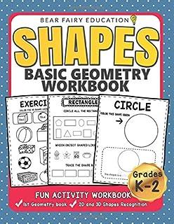 Shapes Basic Geometry Workbook Grades K-2 (Early Childhood Education)