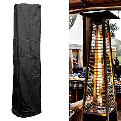CHY-ZTQ Véranda Radiateurs Canopy Terrasse Dust Cover Chauffage Extérieur Imperméable Meubles De Protection,Noir,221 * 53 * 61cm