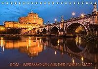 Rom - Impressionen aus der ewigen Stadt (Tischkalender 2022 DIN A5 quer): Fotografische Impressionen aus der ewigen Stadt am Tiber (Monatskalender, 14 Seiten )