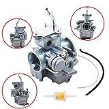 WFLNHB New Carburetor for Yamaha Raptor 50 YFM 50 ATV Badger 80 YFM 80 YFM80 Moto4 Carb