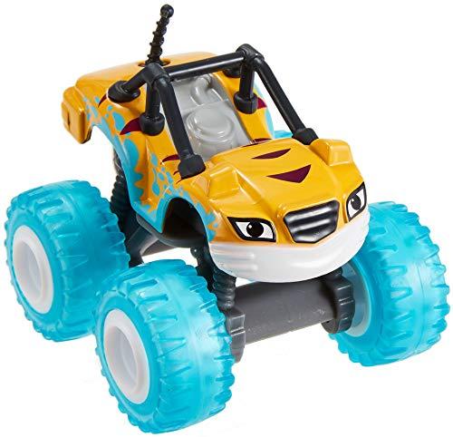 Fisher-Price Mattel – GGW63 Blaze und die Monster-Maschinen – Water Rider Stripes – DieCast Fahrzeug