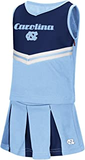 Toddler UNC Tarheels Girls Carolina Blue Pom Pom Cheer Set