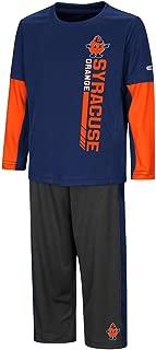Colosseum Toddler Syracuse Orange Long Sleeve Tee Shirt and Sweatpants Set