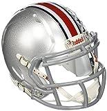 Riddell NCAA Ohio State Buckeyes Speed Mini Helmet Silver, 7.5' x 6.5'