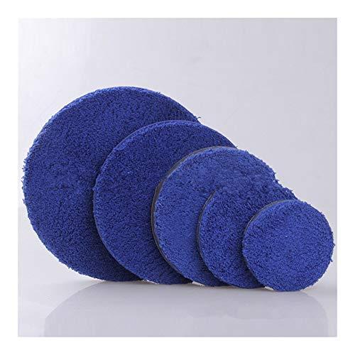 pyouo-Mini almohadillas pulidoras, 2pcs almohadilla de pulido de microfibra, 3/4/5/6 'depilación de cera almohadilla kits micro fibra, para coche…
