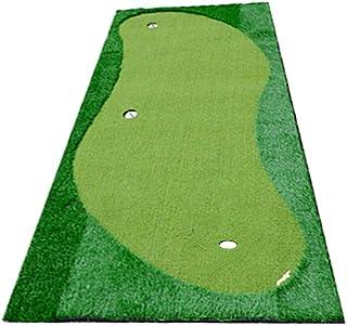 ゴルフ パター マット パッティング 練習 マット 屋内/屋外ゴルフシミュレーションラバーボトムグリーン屋内人工パター練習グリーンゴルフパッティンググリーンシステムプロフェッショナル練習グリーンマット (色 : 緑, サイズ : 1.5*3m)