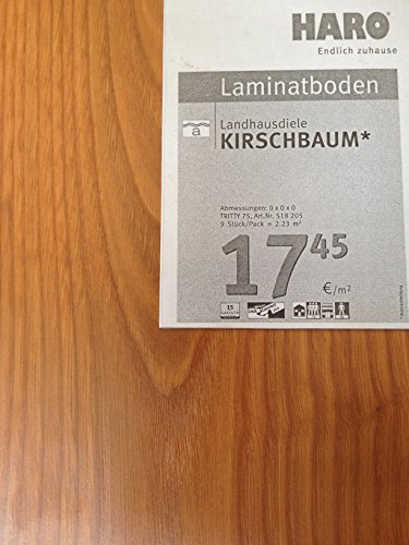 Haro Laminat Kirschbaum authentic Tritty 75 LC Landhausdiele