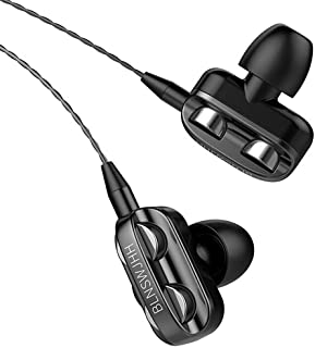 $21 » Earbuds Earphones with Microphone, Ear Buds Wired Headphones,Noise Islating Earbuds,Fits 3.5mm Interface for iPad,iPod,Mp3...