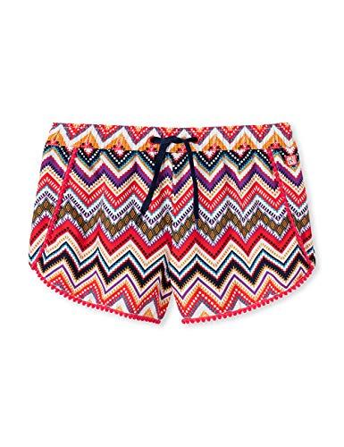 Schiesser Mädchen Aqua Beach-Shorts Badeshorts, Mehrfarbig (Multicolor 904), (Herstellergröße: 140)