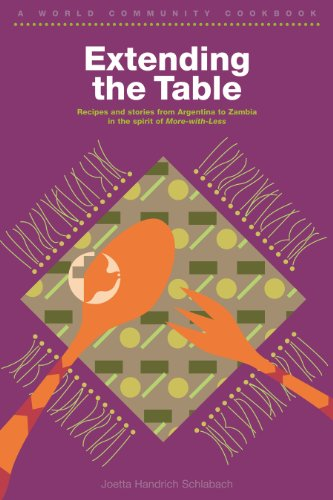 Extending the Table: A World Community Cookbook (World Community Cookbooks)