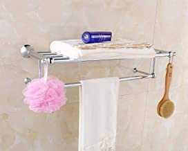 MBYW moderne minimalistische hoge dragende handdoek rek badkamer handdoekenrek Chroom Handdoek Rack/Badkamer Rack Handdoe...