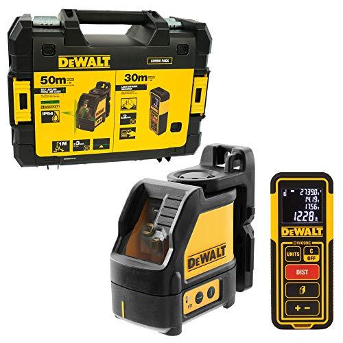 DEWALT DW0889CG-XJ Pack Nivel láser en Cruz Verde DW088CG + medidor DW099E