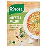 Knorr Zuppa in Busta con Anellini, 83g...