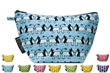 TRIANGLE TOILETRY BAGS Curious Creatures (11-BLUE LION)