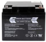 12V 45Ah RPower AGM Batería/Batería de plomo SAI Batería corriente de emergencia luz de emergencia plomo batería
