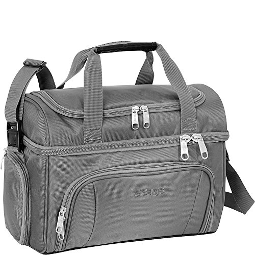 eBags Crew Cooler II Soft Sided Insulated Lunch Box - For Work, Travel & Weekends - (Grey Matter)