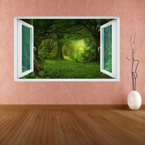 Wandtattoo Vegetation Trees Mural Decal Kids Room Home Office Decor DB17