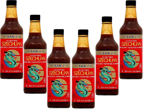 Hot and Spicy Szechuan Stir-Fry and Marinade 10 Ounces (Case of 6)