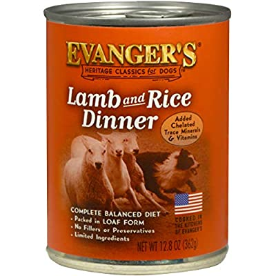 Evanger's Heritage Classics Lamb and Rice Dinner for Dogs