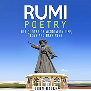 Rumi Poetry audiobook cover art
