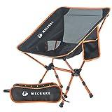 MECHHRE Chaise de Camping Pliable avec Sac de Transport - Compacte, Ultra Légère Chaise de Plage Pliable -...