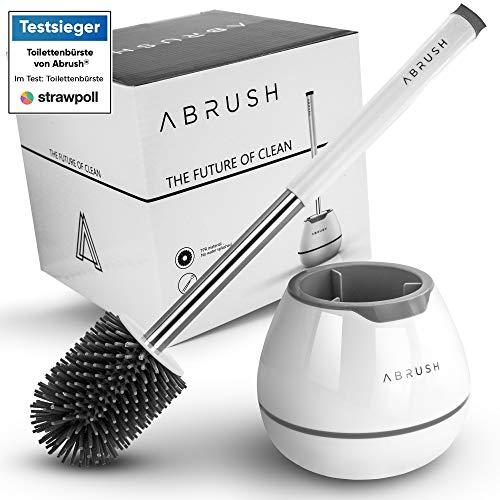 Abrush El Original - escobilla de baño de alta calidad hecha de silicona - escobillero baño - escobilla wc - accesorio baño