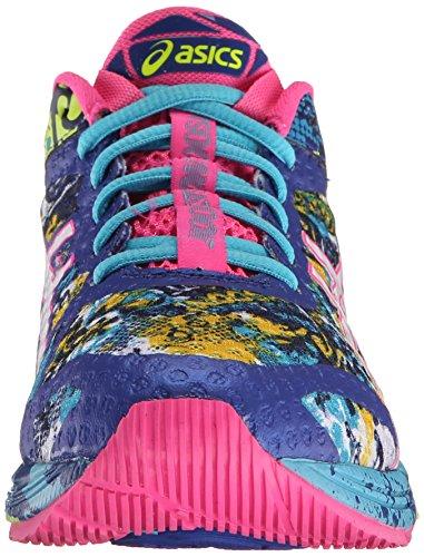 ASICS Women's Gel-Noosa Tri 11 Running Shoe, Asics Blue/White/Hot Pink, 9 M US 2