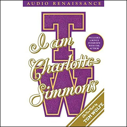 I Am Charlotte Simmons audiobook cover art