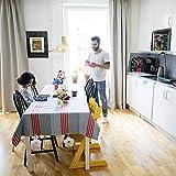 KATELUO 8 Stück Flower Tischdeckenbeschwerer, Edelstahl Tischtuchklammer, Tischdecke Gewichte, Tischtuchklammern für Dicke Tischplatten, Verdickter 2.5 mm Clip, Ideal für Haus, Restaurant, Cafe - 2