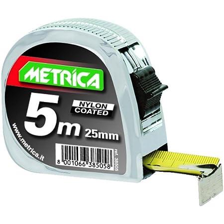 Metrica 38505 Flessometro Professionale, 5 x 25 mm