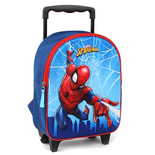 Marvel Spider-Man Sac à Dos à roulettes pour Enfants...