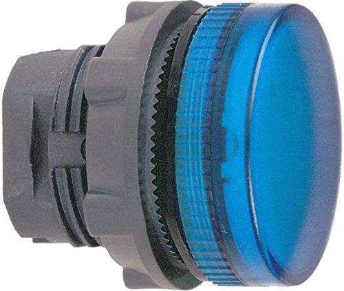 Schneider ZB5AV06 Leuchtmelder, Ø 22, rund, Kalotte, blau