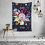 HOIVID Steven Universe Tapestry Wall Hanging Durable Nature Cartoon Anime Wall Poster Tapestries for Bedroom Decorations 60x40inch