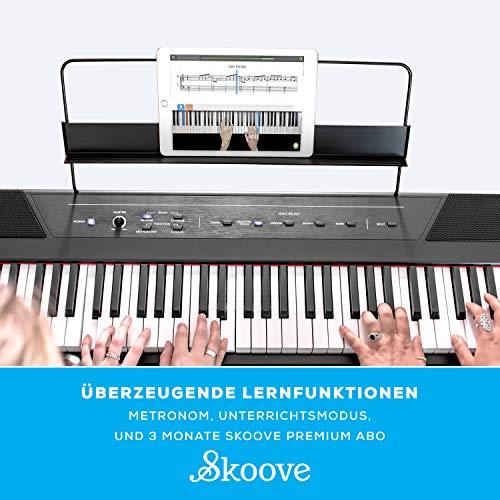 Alesis Recital – Digitalpiano mit 88 Tasten in Standardgröße und eingebauten Lautsprechern - 2