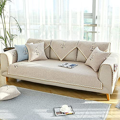 KENEL De múltiples Fines Funda de sofá, Chaise Longue Protector De Muebles para Perros Mascotas Salon-Púrpura,Cubiertas de Tapa de sofá de Tela de Tela de sofá Antideslizante (Solo 1 Pieza/no Todo
