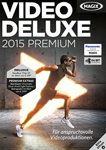 MAGIX Video deluxe 2015 Premium [Download]