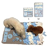 ペットおまちゃ 犬 猫 ノーズワーク マット 餌隠しマット 遊びマット 訓練毛布 知育玩具 嗅覚活用 早食い防止 運動不足 ストレス解消