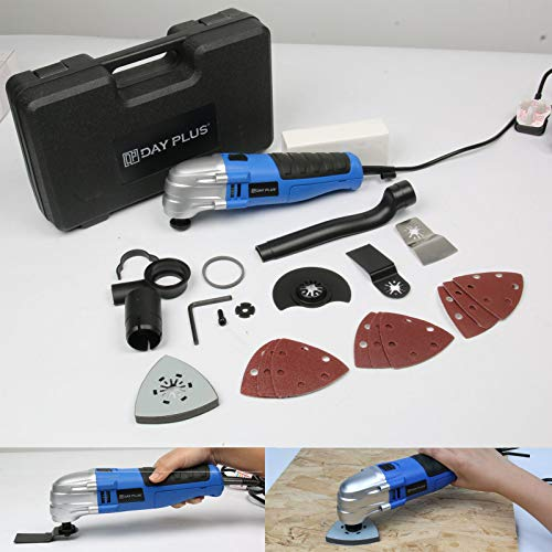 For Sale! Oscillating Tool Multi Tools 180W, 21000rpm Speed Quick Blade Release with 2.8°Oscillatin...