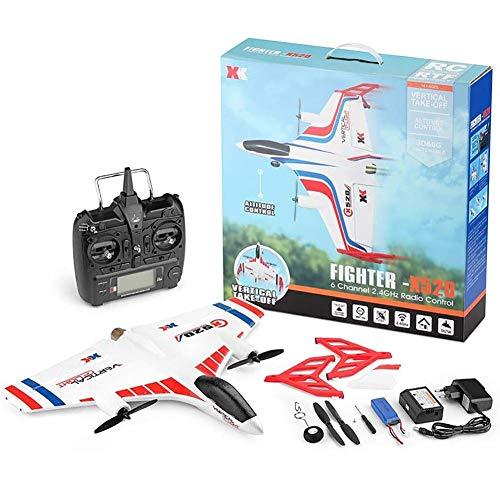 Avión control remoto Rc Planes X520, avión ala delta tierra doméstica vertical 3D/6G Modo vuelo 2.4GHz El control remoto pueser tan grancomo 150m Gran regalo juguete para adultos o niños avanzados