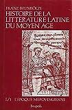 Histoire de la littérature latine du Moyen Âge. - Brepols - 01/01/1990