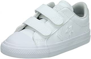 Converse All Star 2 V Strap Hyper Royal Babies Girls Infant Toddler Canvas Shoes Choice Materials Baby Shoes