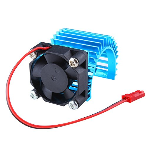 Hobbypark Brushless Motor Heatsink with Cooling Fan RS540 550 540 Size 5V-6V Electric Engine Heat Sink For RC Car Buggy Monster Truck