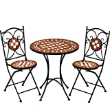 Mosaic bistro/ 1 table +2 chairs /Design Garden Terrace furniture-ETHANOL24