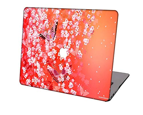 Laptop Case for MacBook Pro 16 Case Model A2141,Neo-wows Plastic Ultra Slim Light Hard Shell Cover Compatible MacBook Pro 16 inch with Touch Bar/Touch ID,Flower 106