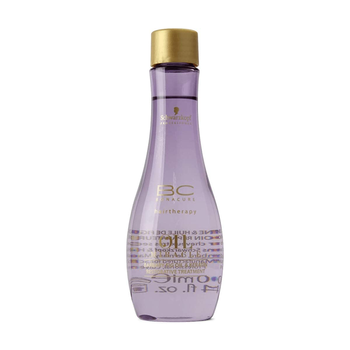 内陸不実好きであるSchwarzkopf Bc Oil Miracle Barbary Fig Oil Treatment 100ml [並行輸入品]