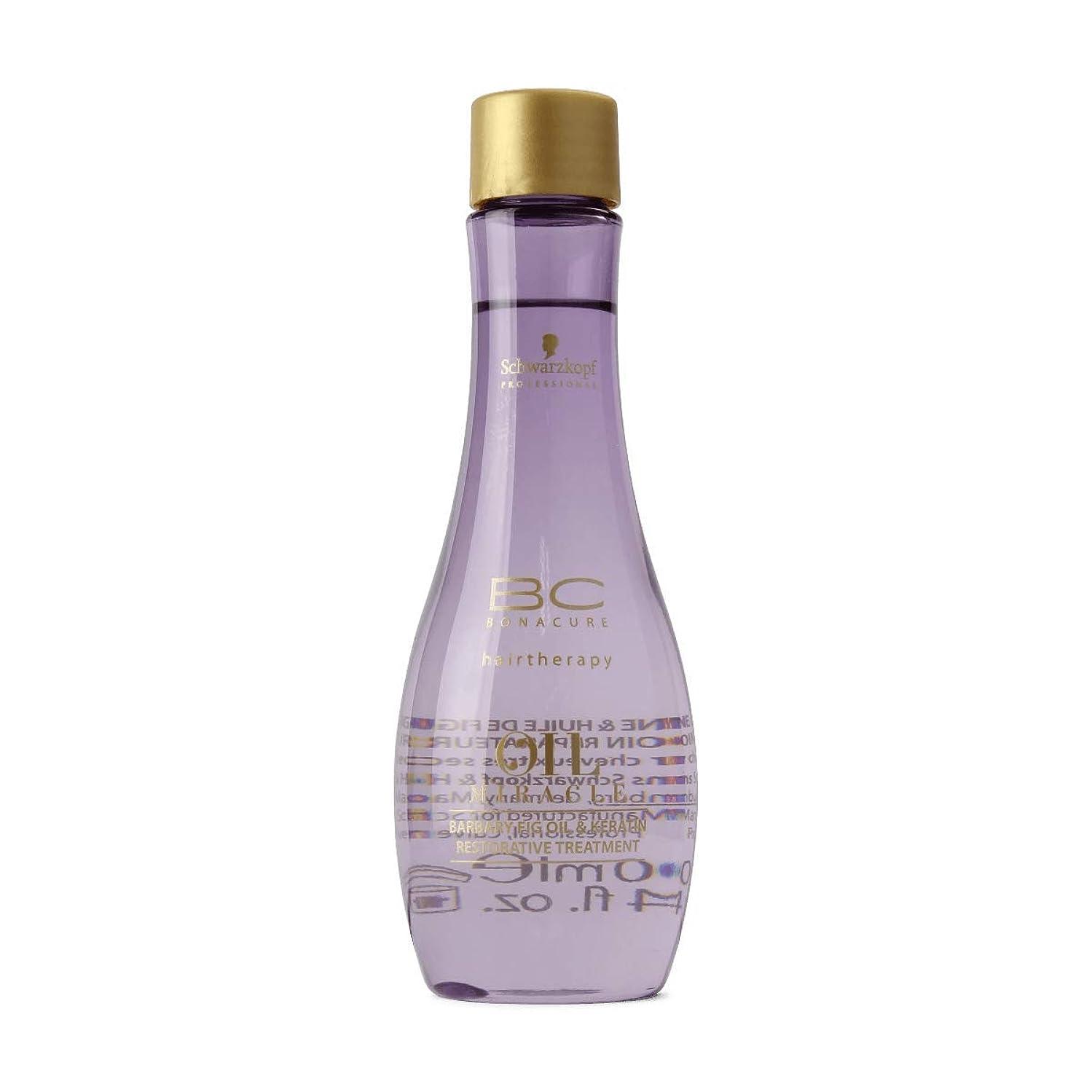 憤る前任者消防士Schwarzkopf Bc Oil Miracle Barbary Fig Oil Treatment 100ml [並行輸入品]