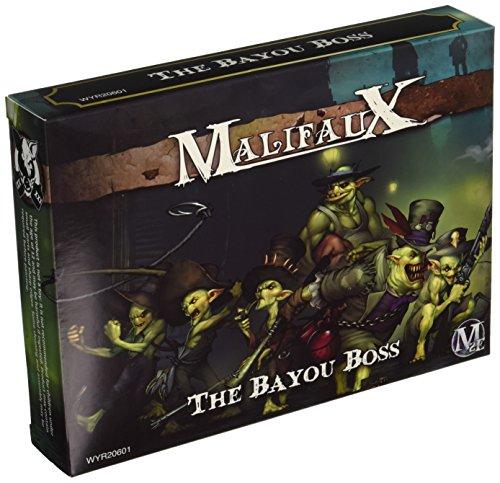 Wurd Miniaturen Malifaux ausgestoßener Bayou Boss Model Kit